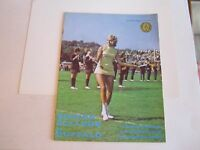 1969 BOSTON COLLEGE VS BUFFALO COLLEGE FOOTBALL PROGRAM - TUB BN-10