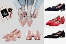 Unbranded Medium (B, M) Width Velvet Shoes for Women