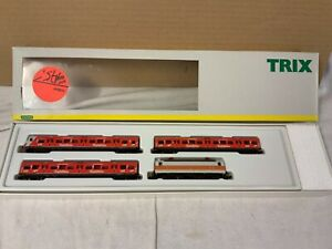 ge/ri17# Aus Nachlass: Minitrix S-Bahnzug Spaghetteria DB 11443