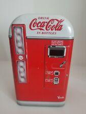 """Vendo Coca-Cola Vending Machine Tins Retro 4 x 7"""" 2001 Coke Collectible"""