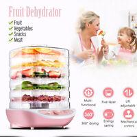 Food Dehydrator Machine Electric Multi-Tier Preserver Meat/Fruit/Beef Dryer