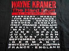 RARE VINTAGE WAYNE KRAMER T SHIRT THE HARD STUFF 94 /95 TOUR HARD ROCK INDIE MC5