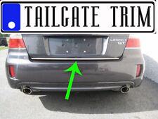 Suba LEGACY 2004 05 06 07 2008 2009 2010-2014 Chrome Tailgate Trunk Trim Molding
