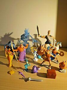 Lot Nessus Centaur Hercules vs Ice Titan Pain Panic Pegasus 1997 Disney Mattel