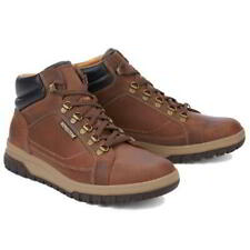 Mephisto Pitt Mens Water Resistant Brown Lace Up Walking Ankle Boots Size 8-13