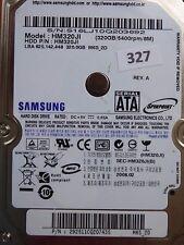 320gb Samsung hm320ji | p/n: 292511cq207435 | 2008.02 | #327