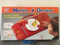 "JEU JOUET ANCIEN "" MACHINE A DESSINER  "" BANDAÏ"