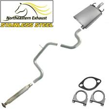 Single Outlet Stainless Steel Exhaust System Kit fits: 2005-08 GrandPrix 3.8L