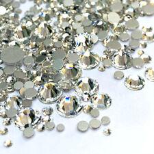1440pcs Crystal 3D Nail Art Rhinestones FlatBack Glitter Diamond Tips Decoration