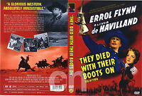 They Died With Their Boots On - Raoul Walsh, Errol Flynn, 1941 / NEW