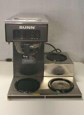 Bunn Vp17 3 Commercial Restaurant Pour Over Coffee Maker Brewer 3 Warmer