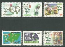 Nigeria 1999 Youth Soccer semipostal--Attractive Sports Topical (B5-10) used