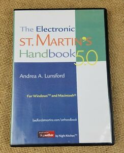 The Electronic St. Martin's Handbook 5.0 Andrea A. Lunsford PC MAC