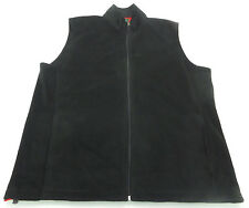Men's WOOLRICH Black Fleece Vest Extra Large XL NWT