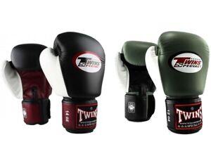 Twins 3 Tone Boxing Gloves Adult Muay Thai Sparring Gloves 10oz 12oz 14oz 16oz