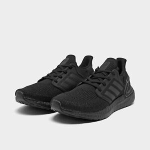Men's Adidas UltraBoost 20 Running Shoes Black Sz 9 EG0691