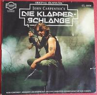 John Carpenter / Die Klapperschlange / Soundtrack LP Vinyl