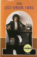 Leo Sayer.  Here. Cosmos. Import Cassette Tape