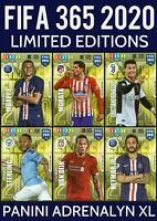 PANINI ADRENALYN XL FIFA 365 2020 LIMITED EDITION TRADING CARDS