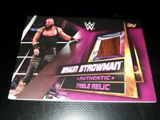 Slam Attax Universe Table Relic Braun Strowman topps