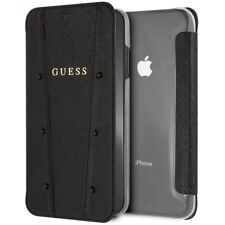 Guess funda Kaia Apple Iphonexs Max transparente y negra