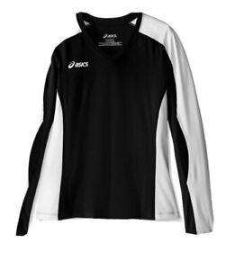ASICS Unisex Childrens Roll Shot Performance Jersey, Black/White, Large