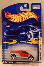 2002 Hot Wheels Card #20 First Editions #8 Honda Spocket Red and Silver PR5