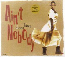 DIANA KING - AIN'T NOBODY (4 track CD single)