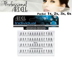 Ardell Individual Medium Black Duralash Flare Eyelashes False Lash Cosmetics