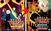 DVD Anime WORLD TRIGGER Complete Series Season 1+2 (1-75 End) English Subtitle