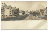 Elgin County RODNEY ONTARIO Stinson Street - Real Photo Postcard