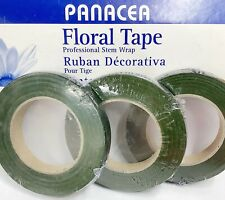 """Panacea Floral Tape - Dark Green - 1/2"""" x 90 ft. - 1 Roll Pack"""