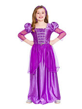Child Classic Rapunzel Princess Fancy Dress Costume Girls 8-10 Years Tangled New