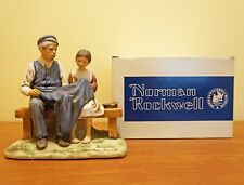 Norman Rockwell's The Lighthouse Keeper's Daughter Figurine 1979 box certificate