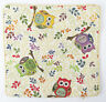 Owl Design Tapestry Cushion Cover Signare - Set of 2 Matching Covers