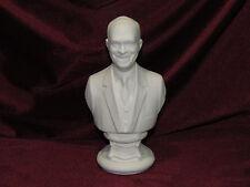 Ceramic Bisque Bust Dwight D. Eisenhower U Paint Ready to Paint President