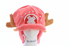 PL-39 One Piece Chopper pink rosa Mütze Hut Plüsch plush Anime Manga Cosplay
