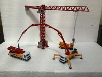 Suitable Marklin spur z scale/gauge Superb Construction Site Crane & Vehicles.