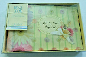 C.R. Gibson Grandma's Brag Book Flutterbyes Baby Photo Album BP73 -3039 New Box