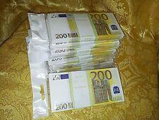 EURO.SOUVENIR BANKNOTE 200euro, 10pcs (SIZE:155*75mm#95~100pc)NEW.