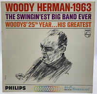 Woody Herman 1963 LP Record Woody's 25th Year His Greatest Big Band Vintage VG+