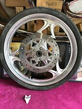 "Harley Big Dog Chopper 21"" Front Mag Wheel Billet Matching Rotor Chopper 3/4"""
