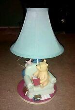 Vintage Disney Winnie The Pooh, Piglet & Eeyore Lamp - With Bonus Art Print