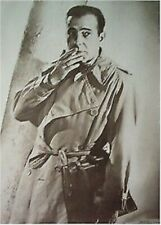 HUMPHREY BOGART POSTER ~ TRENCH COAT 26x38 Smoking Movie