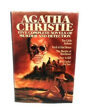 Agatha Christie Five Complete Novels Or Murder And Detection Complete Unabridged