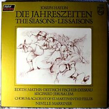 Haydn Die Jahreszeiten The Seasons Les Saisons LP Box Set Opera Edith Mathis