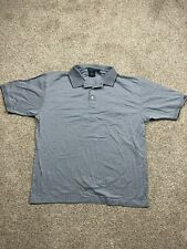 New listing Dockers Polo Shirt Adult X-Large Gray Golfing Golf Rugby Casual Men