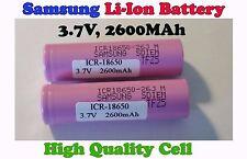 Samsung 2600mah 18650 Li-ion Lithium battery power tool power bank electric bike
