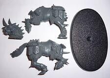 Chaos Knights Horse E - & base – G500