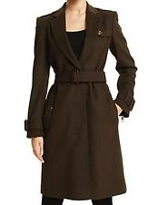 Burberry London Military Inspired Womens Coat Sz14 $995